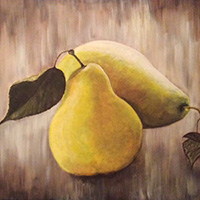 Pears by Valerie Byrne