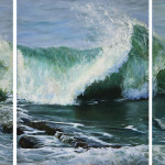 Atlantic Wave (Triptych)