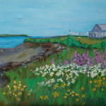 Anne Johnson, Summer on the Island