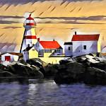 Art Mackay, Head Harbour Light