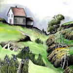 Art Mackay, Last Life Saving Station, Outer Wood Island