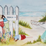 Brenda Rayner, Beach Daze