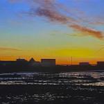 Eliza Maker, Sunrise Over the Cove