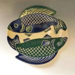 Marina Vern, Green and Blue Fish