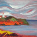 Michael Steinhauser, Pettes Cove, View of Swallowtail Light