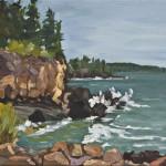 Robin Rier, Cliff, Harrington Cove, Grand Manan