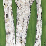 Heather Brown, Spring Birches