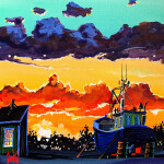 Mario Beaudoin, Grand Manan Sunrise